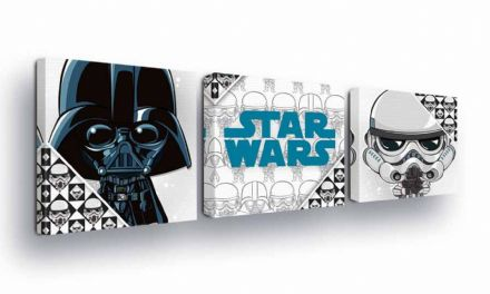 Canvas SET of 3 Baby Star Wars Cartoon